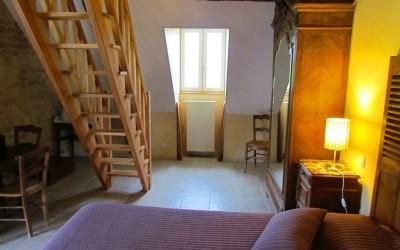 chambre Grandjean – escalier