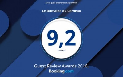 Satisfaction des clients Booking ! Merci